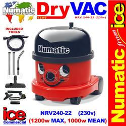 Numatic Nrv 240 22 Vacuum Cleaner 1200w Max 1000w Mean Commercial Henry Hvr 200 240v Browse Equipment Vacuum Cleaners Dry Light Duty Vacuum Cleaners