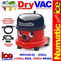 Numatic NRV 200 Dry Valeting Vacuum Cleaner (No Floor Tools) 1200w